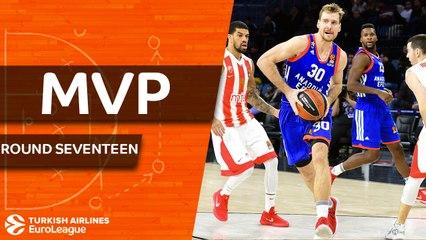 Round 17 MVP: Zoran Dragic, Anadolu Efes Istanbul