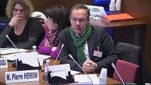 Audition sur les politiques menées par les communes - Jeudi 11 avril 2013
