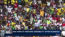 i24NEWS DESK | ANC vows to 'restore credibility' after scandals | Saturday, January 13th 2018