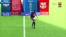 Les jongles de Yerry Mina au Camp Nou