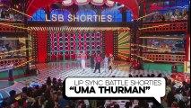 "Finale Sync ""Uma Thurman"" w/ JoJo Siwa, Pete Wentz & Nick Cannon | Lip Sync Battle Shorties | Nick"