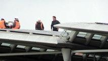 Tom Cruise films stunts on London bridge