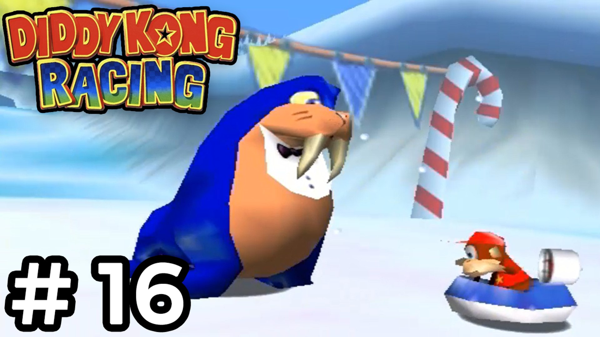 Diddy Kong Racing - #16 [Bluey the Walrus] O chefe