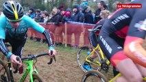 Quelneuc (56). Championnat de France de Cyclo-Cross : Antoine Benoist finit 4 ème de la course Espoir