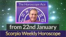 Scorpio Weekly Horoscope from 22nd January - 29th January 2018