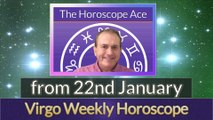 Virgo Weekly Horoscope from 22nd January - 29th January 2018