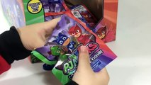 12 PJ Masks Blind Bag Figures Complete w Rare Connor Series 1 with Secret Codes || Keiths Toy Box