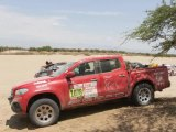 Shes Mercedes goes off-roading! Ellen Lohr took a customised Mercedes-Benz X-Class to the Dakar Rally to represent the Shes Mercedes spirit at this year's event