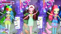 My Little Pony Equestria Girls Legend Of Everfree Dolls Gloriosa Surprise Egg and Toy Collector SETC