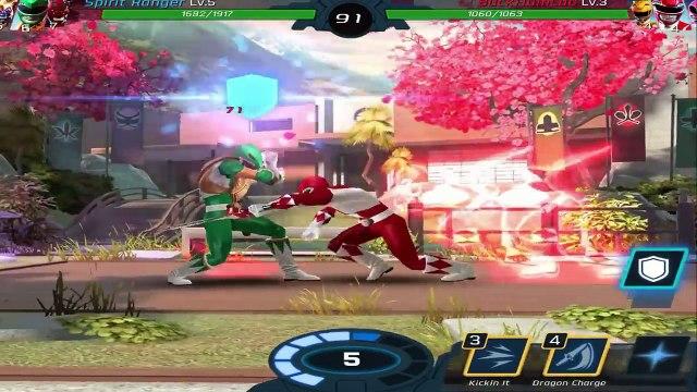Power Rangers Legacy Wars - Green Ranger and Rita Repulsa Gameplay / League V (Power Rangers Movie)