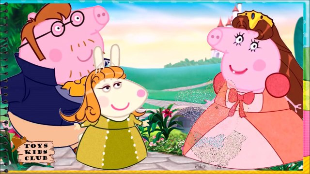 PEPPA PIG DISFARCE PRINCESINHA SOFIA O SHOW DA LUNA PEIXONAUTA E DIVERTIDAMENTE VÁRIOS EPISÓDIOS!