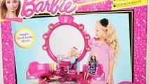 لعبة تسريحة و مكياج باربى العاب بنات Barbie Beauty Studio With Accessories