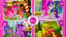 My Little Pony Puzzle Game MLP Applejack Pinkie Pie Twilight Sparkle Rarity Rompecabezas Kids Toys