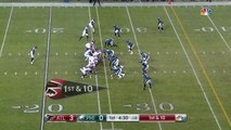 Atlanta Falcons wide receiver Julio Jones reels in 21 yards after great comeback route