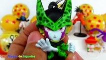 Esferas del Dragón Sorpresas de Dragon Ball Z con Sorpresa Goku + Vegeta + Majin Bu y más DragonBall