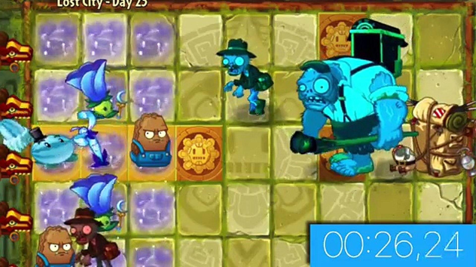 Plants vs  Zombies 2 Porter Gargantuar vs Team Plants PART 2 Plantas Contra  Zombis