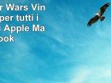 Adesivo sticker Dart Fener Star Wars Vinyl Decal per tutti i modelli di Apple MacBook