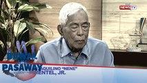 Bawal ang Pasaway: Dating Senate President Nene Pimentel, makakapanayam tungkol sa pederalismo
