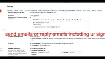 Add Signature To Gmail, Yahoo & Apple Mail
