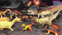 30 CARNIVOROUS DINOSAURS! Dinosaur Toys Collection - Learn Dinosaurs Names & Fs Toys For Kids