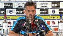 Conférence Le coach avant Bordeaux Nantes par Girondins