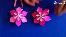 Origami flower ornament. Christmas ornaments. DIY house decor. Amazing DIY necklace.