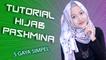 Tutorial Hijab Pashmina Terbaru 5 Gaya Dengan Hijab Pink Bunga #NMY Hijab Tutorials