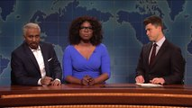 Oprah on Saturday night live Weekend Update_ Oprah Winfrey and Stedman Graham - SNL