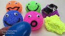 Learn Colors Play Foam Surprise Eggs Disney Pixar Cars Finding Dory Hatchn Heroe