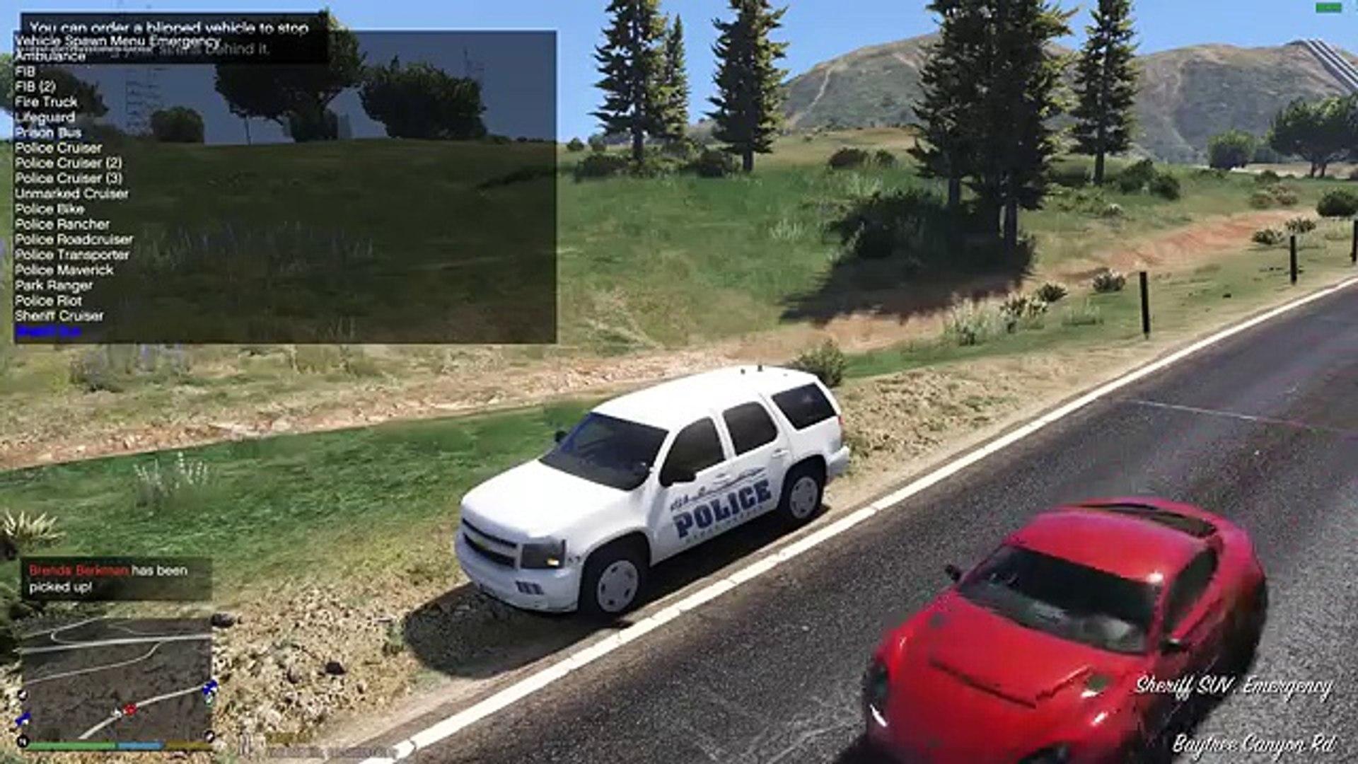 GTA 5 LSPDFR Police Mod 182 | Female Officer Gets Ambushed | Sandy Shores  Police Department Pack