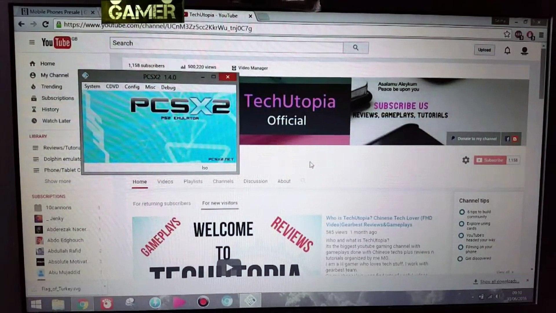 PCSX2 1 4 0 settings 60 FPS 100% SPEED Set Up Configure Test (Windows  PC)LAPTOP