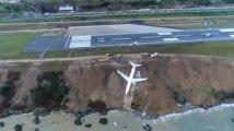 Les images impressionnantes de la sortie de piste de l'avion turc