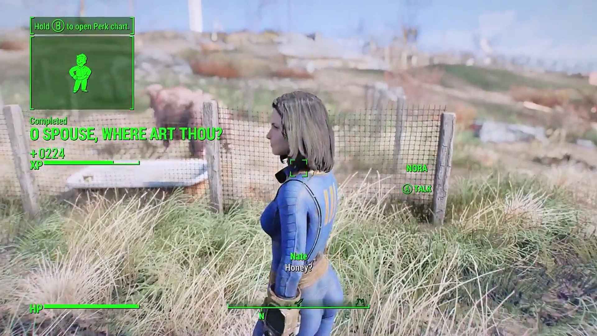 Fallout 4 Nora Survives Finding Nora Quest Meeting Codsworth