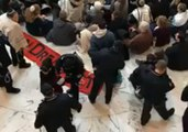 Jewish Leaders Detained By Police During Pro-DREAM Act Protest at Senate Rotunda