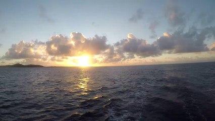 LUAR 040 ARRIVA ALL'ALBA IN MARTINICA DOPO L'OCEANO