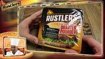 Rustlers BURGER Quarter Pounder (Food Testing) flame grilled