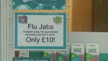 Fear as UK Pharmacies run out of flu vaccine