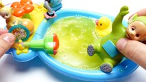 Bath Bomb Special - Teletubbies Play in Baby Bath Tub