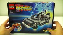 LEGO Back To The Future Cuusoo #004 Review : LEGO 21103 Unboxing & building Delorean Time Machine