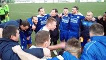 Foot - Hainaut - La joie des joueurs du Symphorinois qui prennent la tête de la P1 après son succès 1-0 contre Gosselies