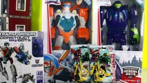 TRANSFORMERS RESCUE BOTS BLURR, BLADES, BOULDER, CONSTRUCT BOTS STARSCREAM, BUILD AND PLAY TOYS