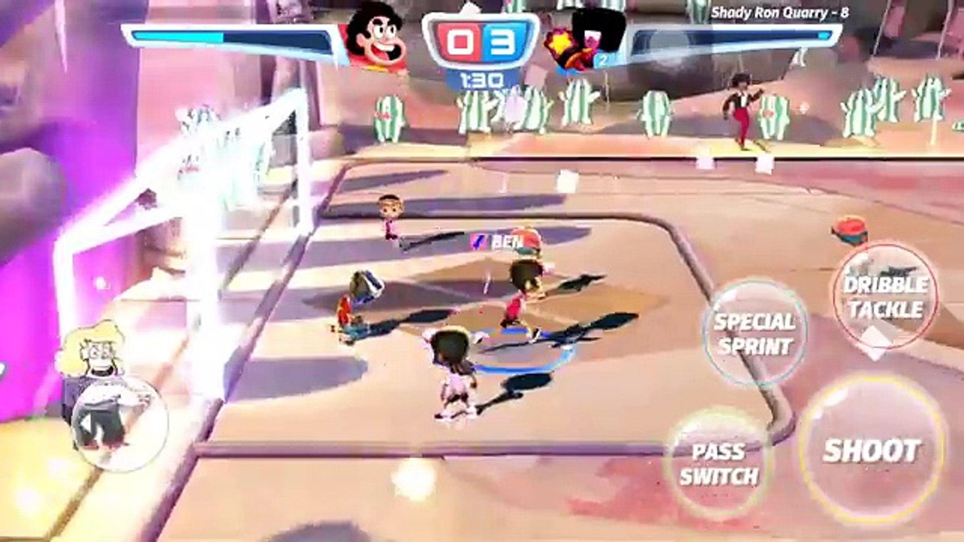 Cartoon Network Superstar Soccer Goal - GARNET TEAM - CHAMPIONSHIP BRACKETS - GARNETS GOLD TROPHY