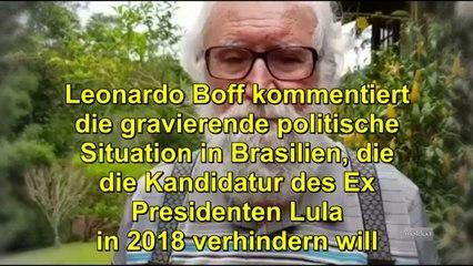 Leonardo Boff bittet um Unterstützung für Lula [Legendas]