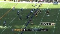 Jacksonville Jaguars defensive tackle Marcell Dareus drags down Big Ben for Jaguars' second sack