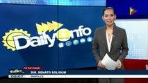 Panayam ng Daily Info kay PHIVOLCS Dir. Solidum kaugnay ng lagay ng Mayon Volcano