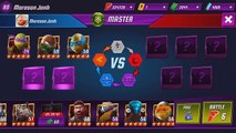 TMNT Legends PVP​​ 356 (Donatello Legend, Mikey Vision, Leonardo Movie, Raphael LARP)