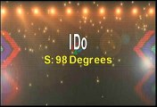 98 Degrees I Do (Cherish You) Karaoke Version