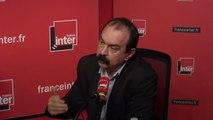"""Philippe Martinez, sur le scandale Lactalis : """" Dans les entreprises, un certain nombre de sujets sont tabous, notamment sur les principes de précaution en matière de sécurité"""""""
