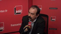"""Philippe Martinez, sur les syndicats affaiblis face à l'Uberisation : """"Nous manquons d'ambition pour aller voir ces nouveaux travailleurs"""""""