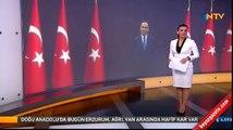 NTV spikeri Burcu Kaya'nın zor anları